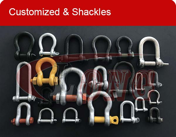 kinds of shackles