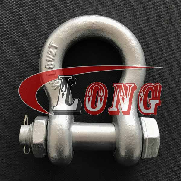 G-2130-Bolt-Type-Anchor-Shackle-with-Safety-PinNut-US-Fed.-Spec-China-Manufacturers
