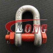 Bolt Type Chain Shackle G-2150 U.S. Type China manufacturer supplier