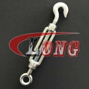 DIN 1480 Turnbuckle Hook-Eye,aka turnbuckle DIN1480 eye and hook,conform to DIN 1480,been Electric galvanized or hot dip galvanized,China LG manufacturer