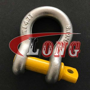 Grade S Bow Shackle Screw Pin AS2741 China manufacturer
