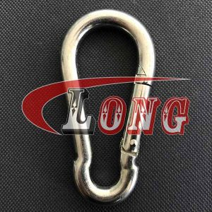 Spring Snap Hook DIN5299 Form C Stainless Steel China manufacturer