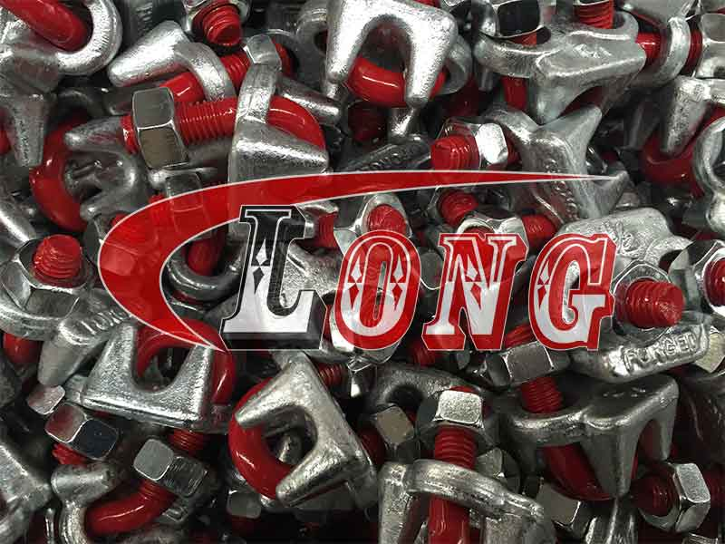 Drop Forged Wire Rope Clips G450 US.Fed.Spec. China manufacturer