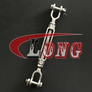 Galvanized Turnbuckle Jaw&Jaw US Type,aka jaw-jaw turnbuckle,conform to US type,made of carbon steel,been drop forged and Zinc plated/HDG,China manufacturer