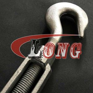 Galvanized Turnbuckle Hook & Hook HG-223 US Fed Spec China manufacturer