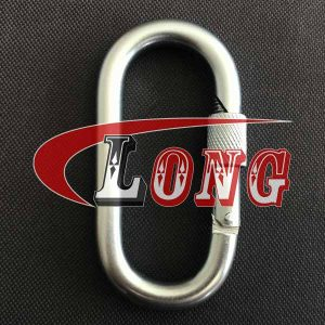 Oval Snap Hook w/Screw Nut China manufacturer