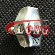Simplex Wire Rope Grips Zinc Plated China manufacturer