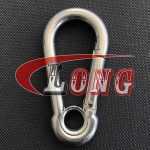 Snap Hook with Eyelet DIN 5299 Stainless Steel