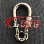 Snap Hook DIN5299 Stainless Steel with Screw&Eyelet