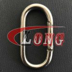 Stainless Steel Oval Snap Hook