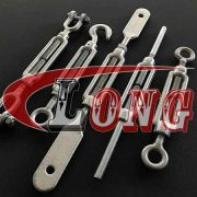 DIN 1480 Turnbuckle Jaw-Jaw,aka Straining Screw or DIN 1480 turnbuckle Fork and Fork,conform to DIN 1480,been electric galvanised/HDG,China manufacturer