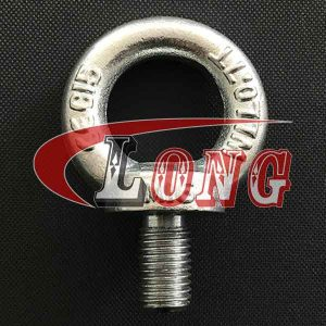 Steel DIN 580 Lifting Eye Bolts