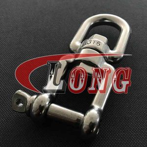 Chain Swivel Jaw&Eye Stainless Steel,aka swivel chain connector or trawl swivel,made of AISI304/316,after casting,used for trawling,China manufacturer