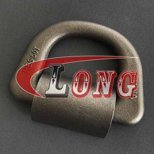 Forged D Ring - Weld-on Lashing Ring