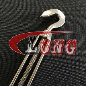 Hook&Hook Turnbuckle Stainless Steel US Type aisi304/aisi316 China manufacturer supplier
