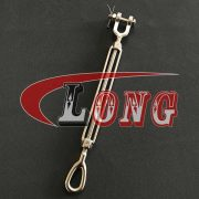 Jaw and Eye Turnbuckle US Type Stainless Steel straining screw China manufacturer supplier