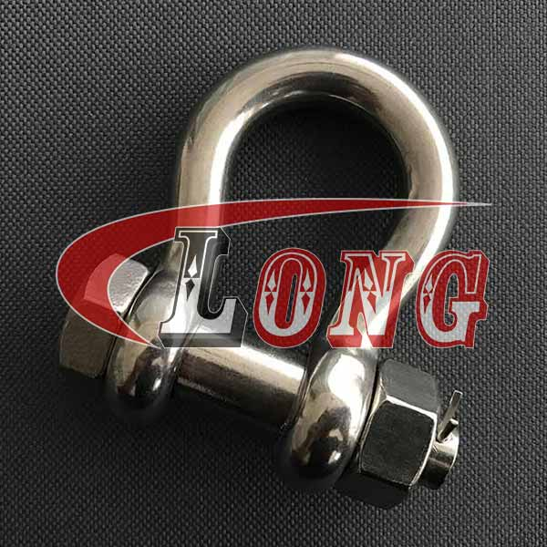 316 D Shackle 1//2 Forged US Type Oversized 5//8 Pin Marine Grade Stainless Steel