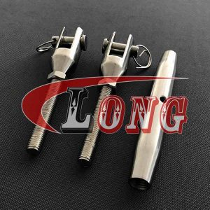 stainless steel closed body turnbuckle with jaw and jaw AISI316/AISI304 China manufacturer supplier