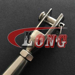 Rigging Screw Machined Fork & Swage Stud Stainless Steel China manufacturer