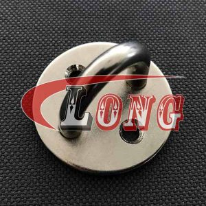 Stainless Steel Round Pad Eye