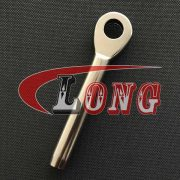 Stainless steel eye terminal stainless steel 316 swage eye terminal