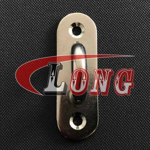 Stainless Steel Oblong Pad Eye Plate