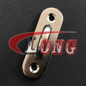 Stainless Steel Oblong Eye Plate, Oblong Pad Eye