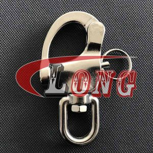 Stainless Steel Eye Swivel Snap Shackle for Sailboat China manufacturer