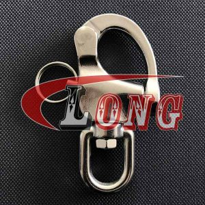 Stainless Steel Eye Swivel Snap Shackle for Sailboat