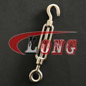 Stainless Steel Turnbuckle DIN 1480 Eye-Hook China manufacturer