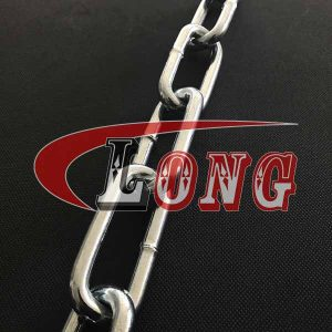din 763,din 763 chain,long link chain,marine chain,welded link chain,galvanized chain,mooring chain,anchor chain,rundstahlkette,made in China