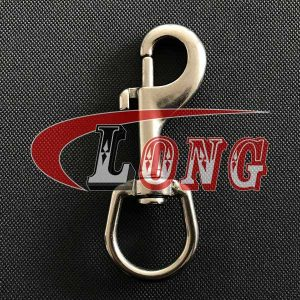 Swivel Eye Bolt Snap Hook Stainless Steel China supplier manufacturer