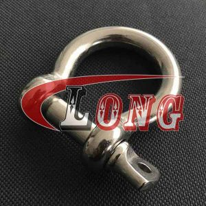 Bow Shackle Stainless Steel Screw Pin European Type China manufacturer