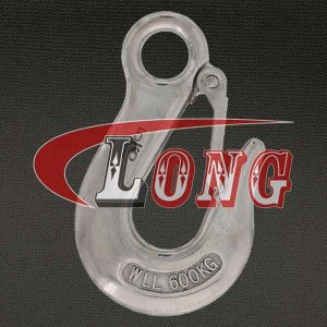 Eye Slip Hook with Latch Stainless Steel China manufacturer