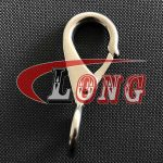 Stainless Steel Fixed Eye Boat Snap Hook,