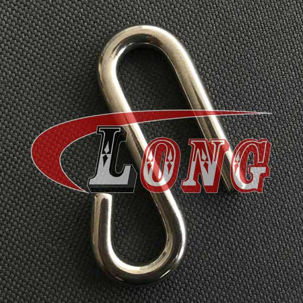 Stainless Steel Long Arm S Hooks