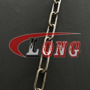 Stainless Steel Long Link Chain to DIN 763