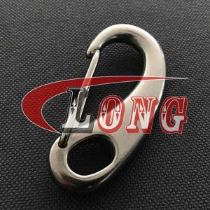 Spring Gate Snap Hook Stainless Steel Egg Shape