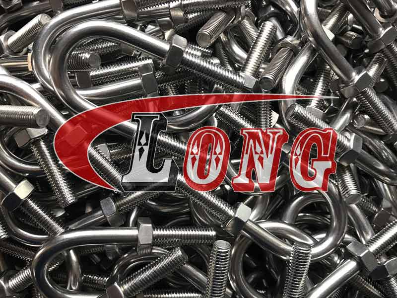 Stainless Steel U Bolt MPWN Type with Nu China manufacturer