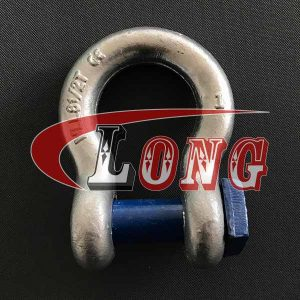 Bow Shackle Square Head Pin High Tensile China manufacturer supplier