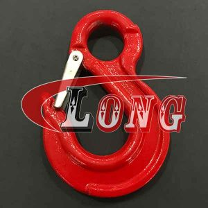G80 Eye Sling Hook with Safety Latch China manufacturer