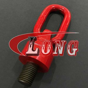 Grade 80 lifting point swivel lifting eye bolt with ring China manufacturer
