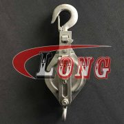 stainless steel open type pulley