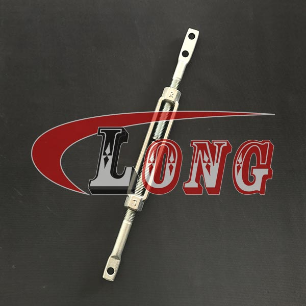 Galvanized Turnbuckle with Flat end,aka turnbuckle brace or turnbuckle wall braces,suit for inground pool or wall brace,has plain ends,cast,China supplier