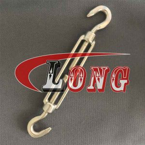 Turnbuckle DIN 1480 Stainless Steel Hook & Hook China manufacturer