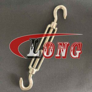 Stainless Steel DIN 1480 Turnbuckle Hook&Hook aisi304/aisi316 China supplier manufacturer
