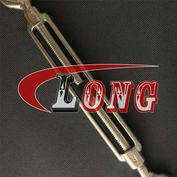 Stainless Steel Turnbuckle European Type Eye and Eye aisi304/aisi316 China supplier manufacturer