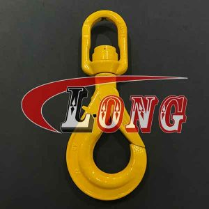 G80 Eye Swivel Self-locking Hook with Bearing China manufacturer supplier