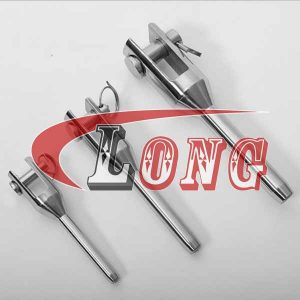 Machined Fork Terminal,Stainless Steel,Swage Machined Fork Terminal,SS,Wire Rope,swage fork terminal,swage jaw terminal,the China manufacturer and supplier
