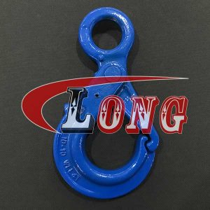 Self Locking Safety Hook,self-locking hook,Eye self locking hook,lifting hook,eye hook,Grade 100,Special type,European type,the China manufacturer